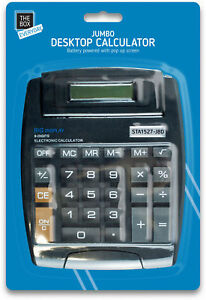 7-034-x-5-034-Jumbo-Professional-Desk-Calculator-Digit-Large-Button-School-Home-Office