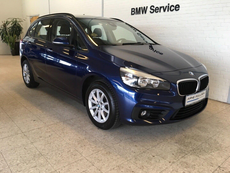 BMW 218d 2,0 Active Tourer Advantage 5d - 190.000 kr.