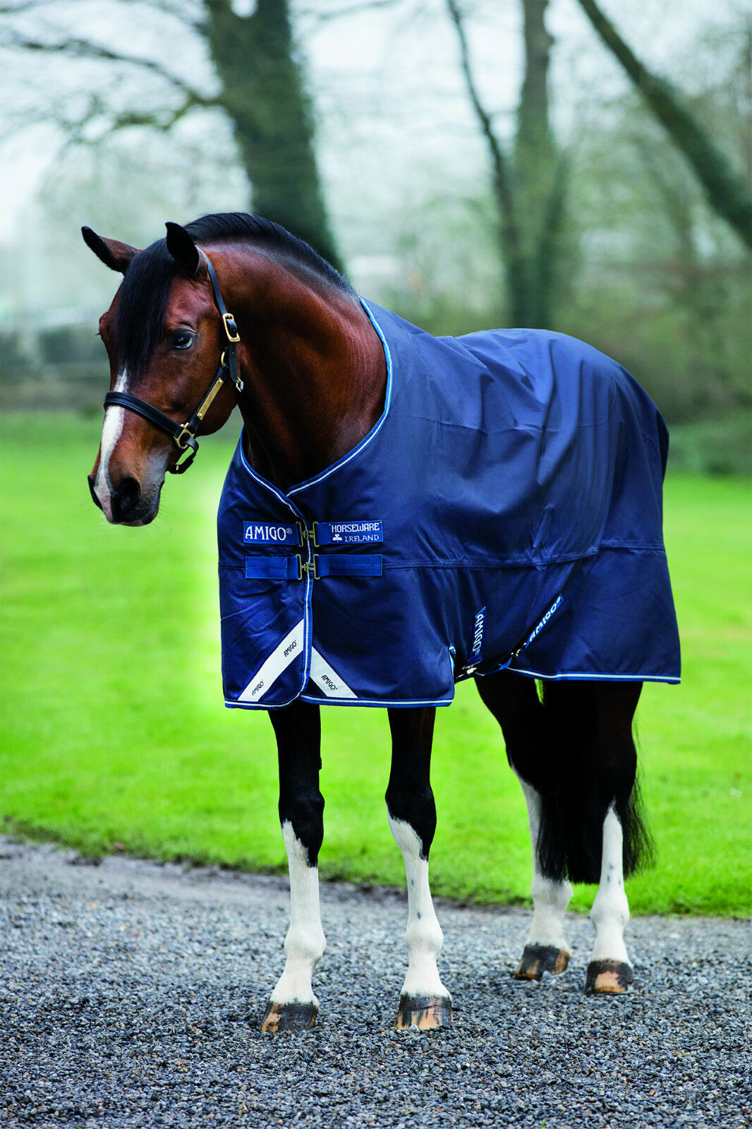 Horseware Amigo Bravo 1200D  Gr 140  (100g (100g (100g Füllung )NEUES MODELL 6a5328