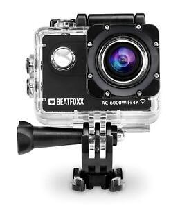 kompakte 4k unterwasser kamera ideal f r fahrrad motorrad. Black Bedroom Furniture Sets. Home Design Ideas