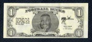 1962 TOPPS FOOTBALL BUCKS # 41 PRENTICE GAUTT CARDINALS EX ...