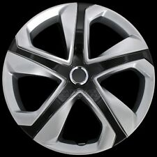 16 Set Of 4 Silver Black Wheel Covers Snap On Hub Caps Fit R16 Tire Amp Steel Rim Fits Toyota
