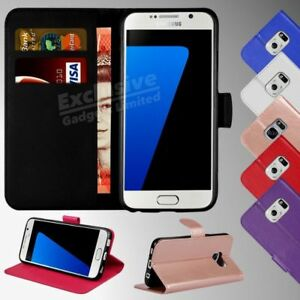 Cover-flip-case-libro-custodia-portafoglio-in-pelle-per-Samsung-Galaxy-S8-S7-S9