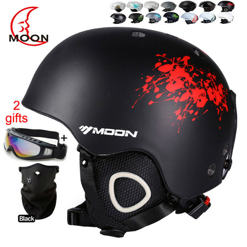 ORIGINAL MOON Ski Helmet  Integrally-molded Skiing Helmet For Adult and Kids  clients first reputation first