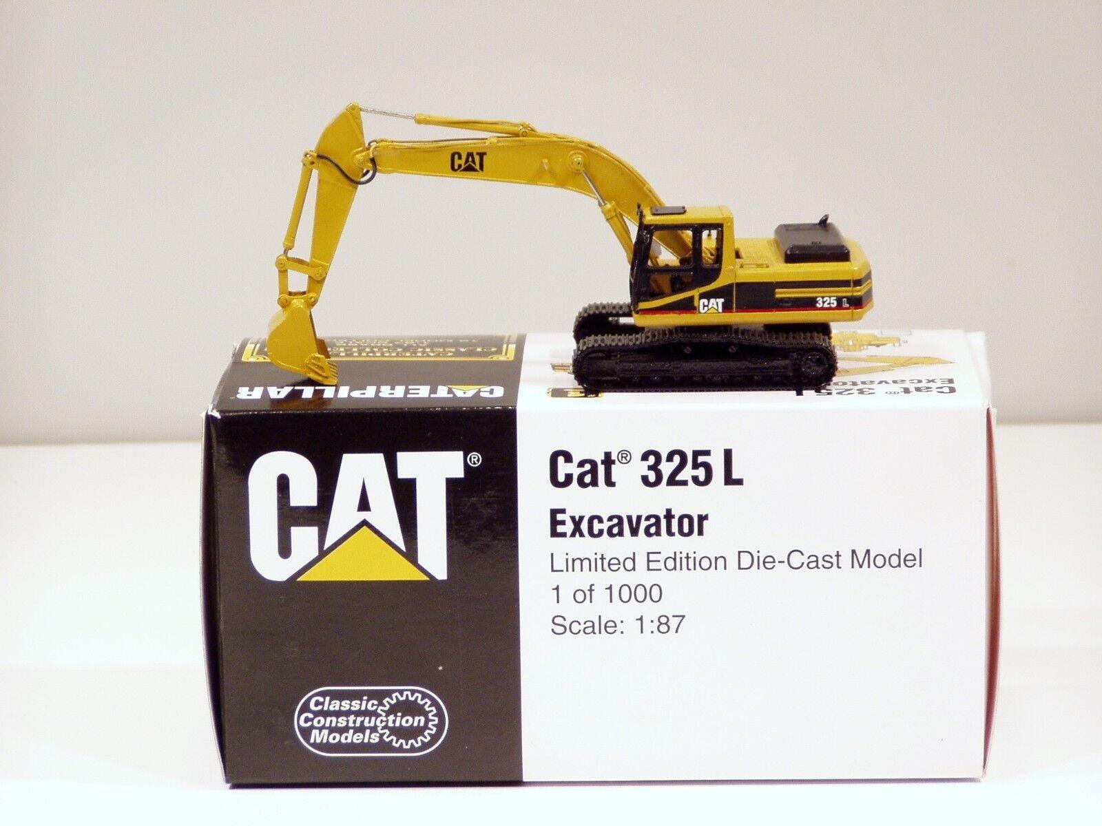 Caterpillar 325 L Pelle - 1 87 - Laiton-CCM-Comme neuf IN BOX