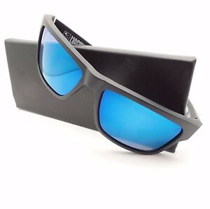 f00738c1876 Spy Optics Frazier Matte Black Bronze Polar Blue Spectra Mirror New ...