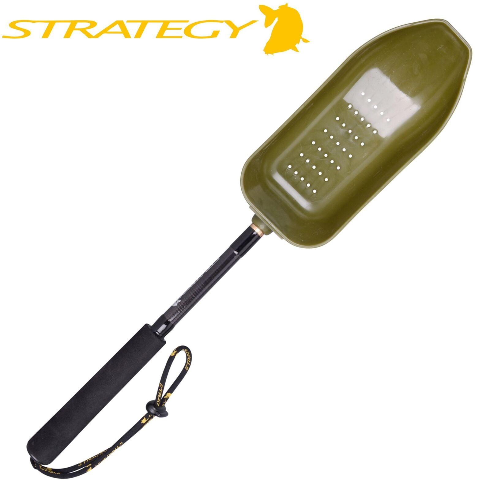 Strategy short Bait Spoon wide with holes-alimentación animal pala, pala, pala, futterkelle db1a33