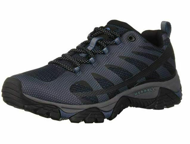 Merrell mannen's Moab Edge 2 Athletic schoen, Navy, 8.5 M US