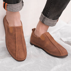 Women Loafers Breathable Boat Shoes Round Toe Slip On Casual Moccasins Flats