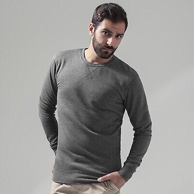 Men's Crew Neck Sweatshirt Plain Casual Comfortable Fit Casual Fashion Style New