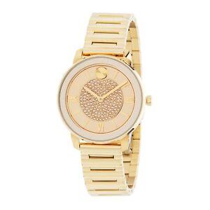 Movado 3600659 Women's Bold Gold-Tone Quartz Watch
