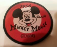 "MICKEY MOUSE  CLUB 1956 Sew on patch 2.5"" x 2.5"" Kids fun"