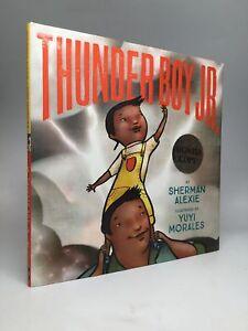 Sherman Alexie / THUNDER BOY JR Signed 1st Edition 2016 ...