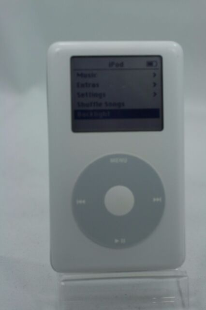 Refurbished 20gb White Apple iPod Classic 4th Gen 20 GB A1059 Clickwheel MP3