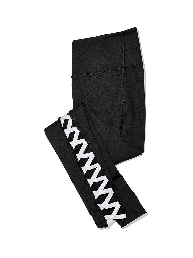 New  VICTORIA'S SECRET VSX SPORT CRISSCROSS shine tight leggings  xs - short