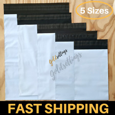 25 9x9 EcoSwift Square Poly Mailers Plastic Envelopes Shipping Bags 1.7MIL