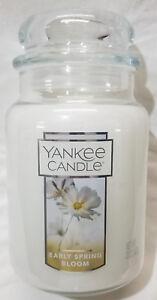 Yankee-Candle-EARLY-SPRING-BLOOM-Large-Jar-22-Oz-White-Housewarmer-Wax-Floral