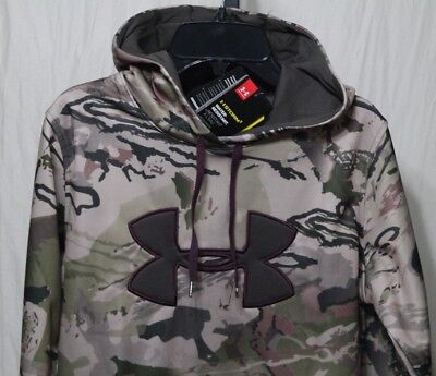 bce759fbb3 UNDER ARMOUR UA STORM RIDGE REAPER WOMEN CAMO PULL OVER HOODIE ...