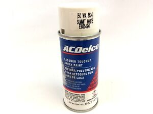 gm acdelco olympic summit white lacquer touch up spray