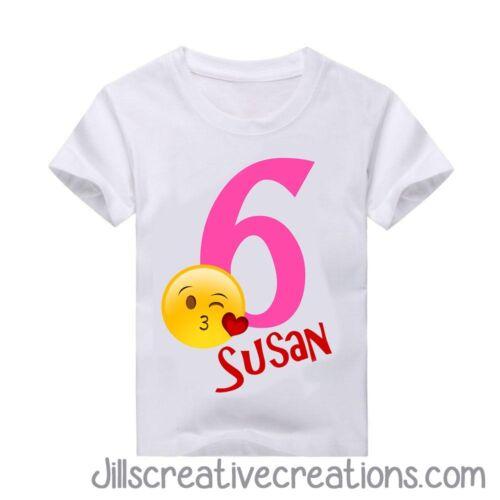 Camiseta Personalizada emoji Emoji Aniversário Camiseta Emoji Camisa T-shirt