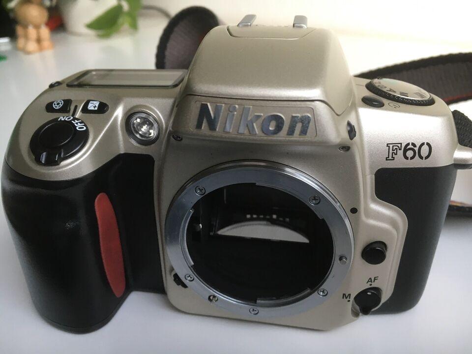 Nikon, F60, spejlrefleks