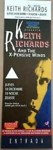 Keith Richards - 1992 Barcelona Concert Ticket. VG++