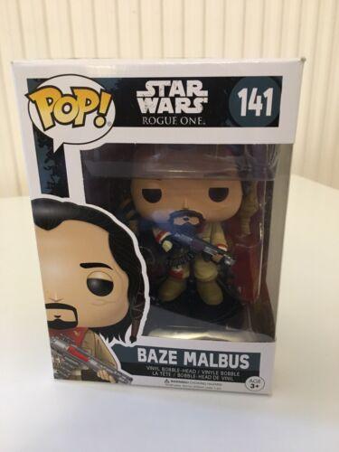Funko Pop vinyl Star Wars Rogue One 141 Baze Malbus-Coffret-Neuf