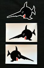 Uboot/U-Boot/U-96 Sägefisch, Schwertfisch Aufkleber klein-Top Qualität