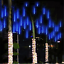 8 Tubes LED Waterproof Meteor Shower Rain Drop Icicle Christmas Xmas Light Decor