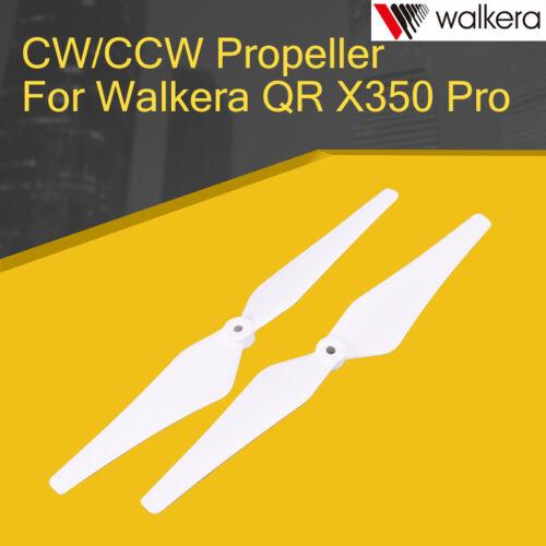 2PCS CW//CCW Propeller Blades For Walkera QR X350 Pro RC Quadcopter Parts White