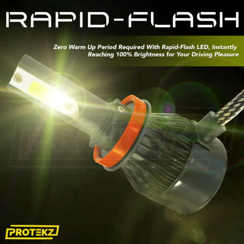 LED Fog Light Kit Protekz 880 6000K CREE for 2005-2009 Pontiac MONTANA