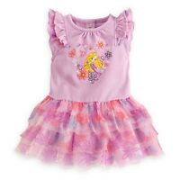 Disney Store Rapunzel Tutu Dress Tulle Layers & Matching Bloomers For Baby