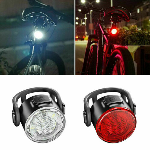 Road Bike LED Tail Light Bicycle Safety Riding Warning Rear Lamp USB Charging A+
