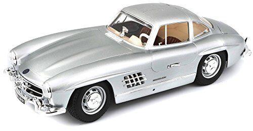 Bburago 118 Mercedes -Benz 300 SL 1954 –färg kan variera