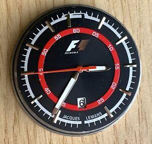 Jacques-Lemans-Formule-1-Cal-VJ42B-Quartz-40-4-mm-Pas-Fonctionne-pour-Pieces