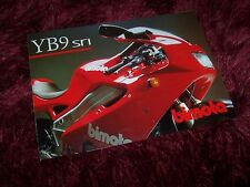 Dépliant pub /  Brochure BIMOTA YB9 sri 1999 //