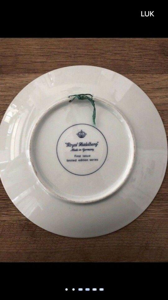 Porcelæn, Hænge tallerken