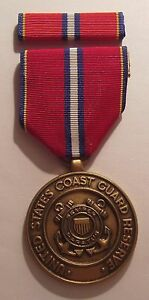 Details about U S  Coast Guard Reserve Good Conduct Medal with RIBBON