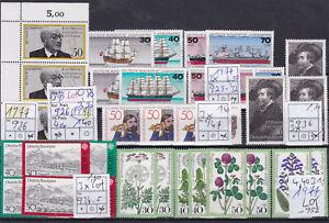 Brd-Jahrgang-1977-postfrisch-Lot