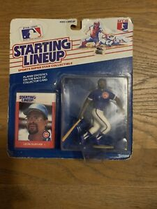 1988 LEON DURHAM Chicago Cubs #10 Rookie  sole Starting Lineup
