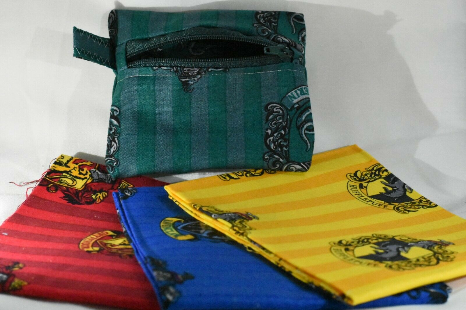 Harry Potter Personalised Zip Purse Slytherin Ravenclaw Hufflepuff Gryffindor
