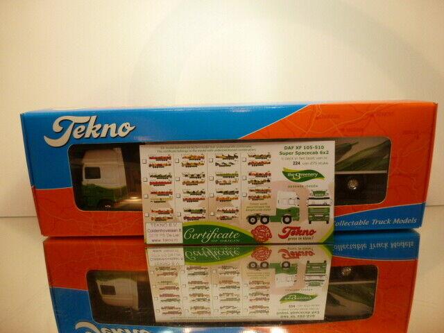 TEKNO HOLLAND DAF 105-510 SPACECAB  DIJCO - vertERY 1 50 - EXCELLENT IN BOX  magasins d'usine
