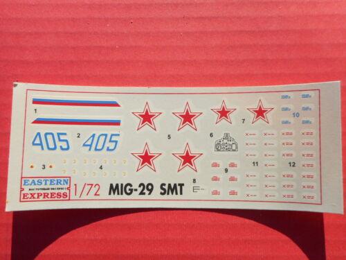 1//72 DECALS MIG 21 SMT EASTERN EXPRESS 72102