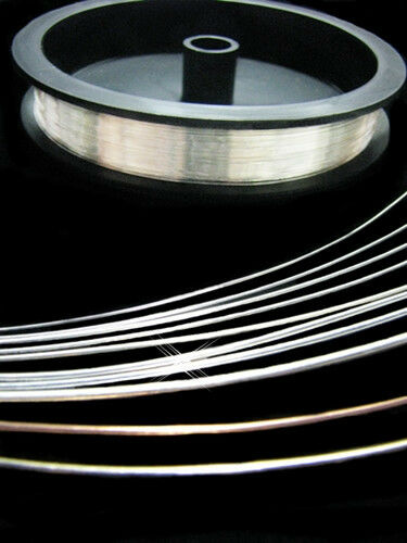 22 Gauge R DS 100% RECYCLED ARGENTIUM Sterling Silver Wire Conflict Free 1 FOOT