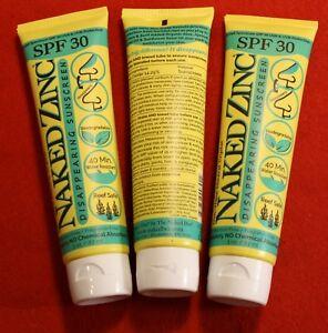The Naked Bee Zinc Broad Spectrum Spf 30 UVA/UVB Sunscreen