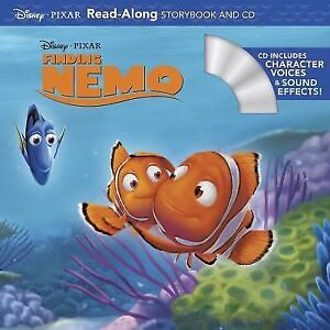 Read Along Storybook And CD Finding Nemo By Disney Book Group Staff 2012 Paperback