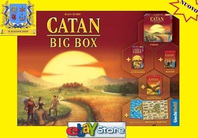 I Coloni di Catan Big Box, Nuovo by Giochi Uniti, Edizione Italiana ESPANSIONI