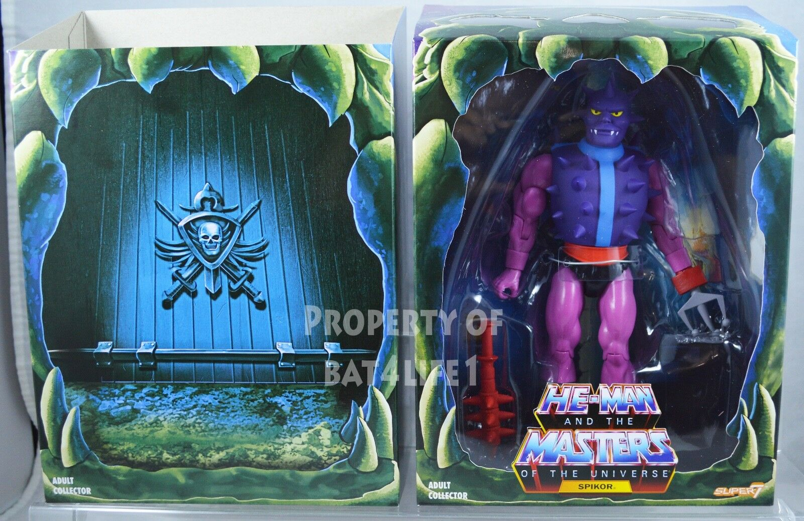 Masters of the Universe Filmation POWER CON EXCLUSIVE SPIKOR MOC  FREE S H