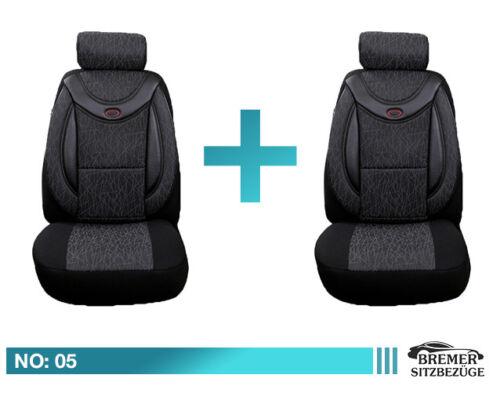 Fiat FULLBACK ab Bj 2016 Schonbezüge Sitzbezug Sitzbezüge Fahrer /&Beifahrer 05