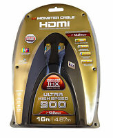 Monster Cable Thx Ultra High Speed 900 13.8 Gbps Hdmi Cable 16 Ft